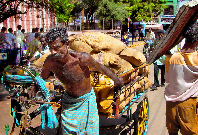 Tricycle-man, hard Labour.