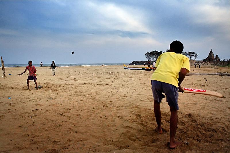 Mamalla Beach Cricket