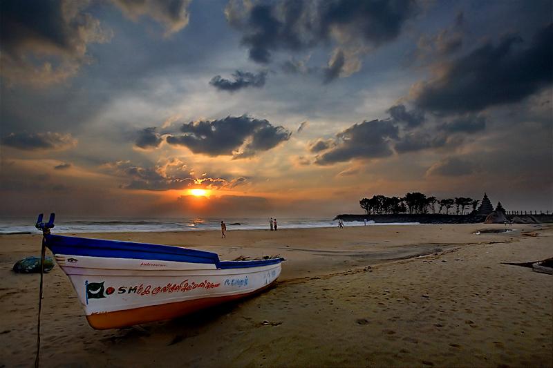 Sunrise at Mamalla beach