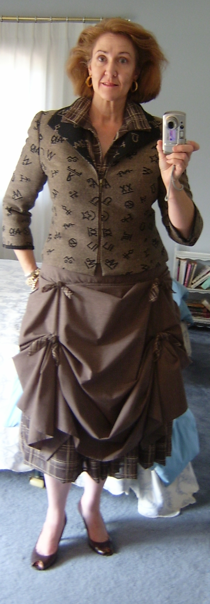 Draped /Ruched Skirt