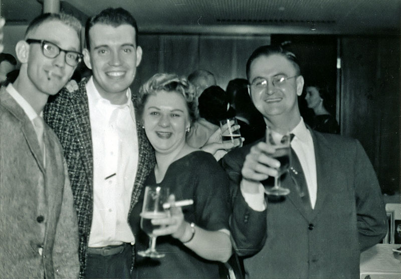 L-R: Hanson, Todd, Woman, Heiler