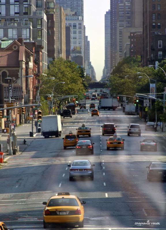 Saturday morning traffic ~ Tenth Avenue