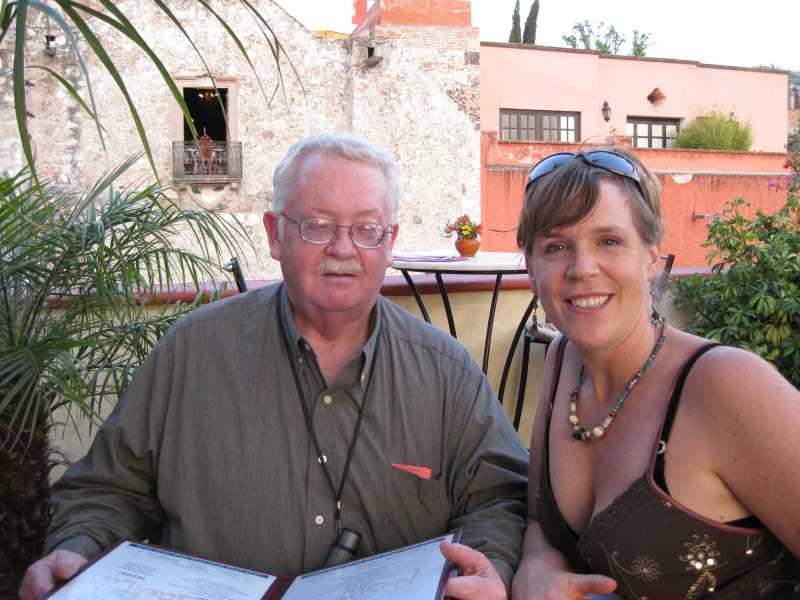 Bill & Marnie  --  photo by Marjorie