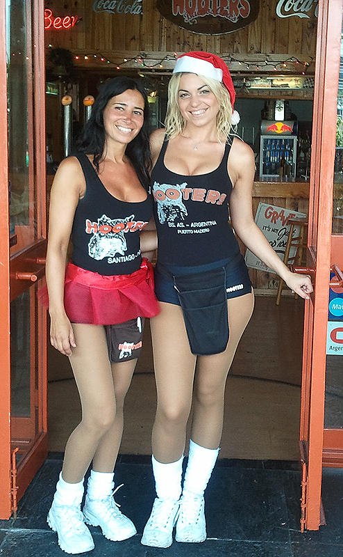 Merry Christmas from our friends at HOOTers