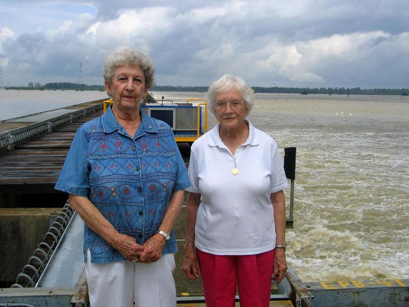 Audrey Kugler and Rita Kugler are sisters