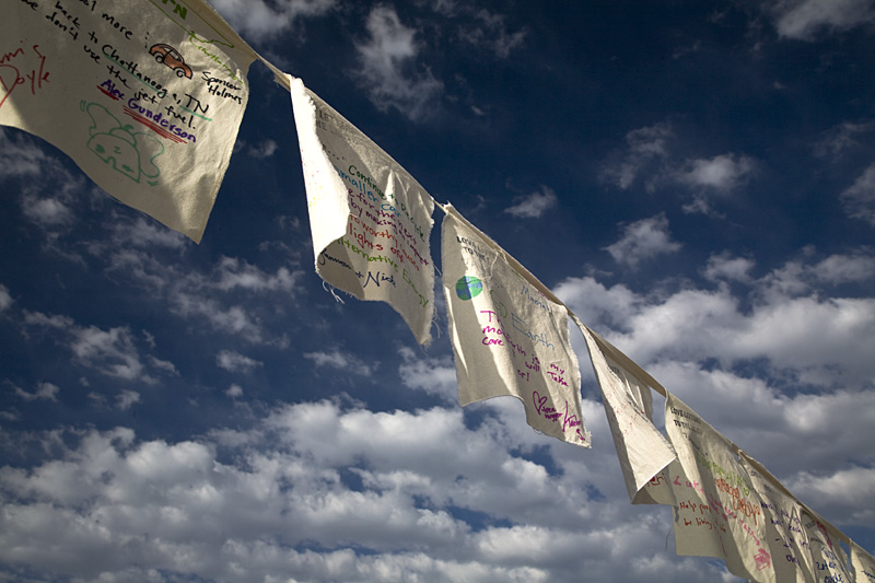 Prayer Flags for our Planet