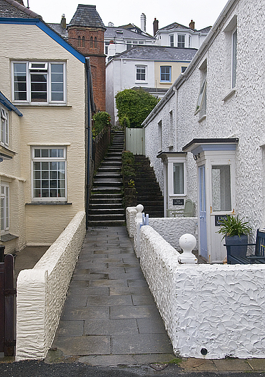 A Narrow Street In St. Mawes