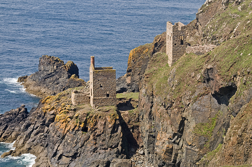 The Famous Engine Houses Of The Botallack Crown Mines
