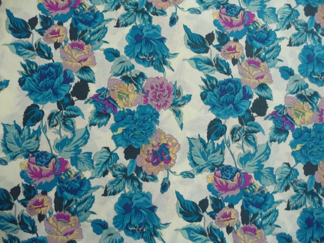 My fabric, a Japanese cotton from Spotlight