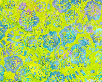 Fabric detail: batik quilting cotton