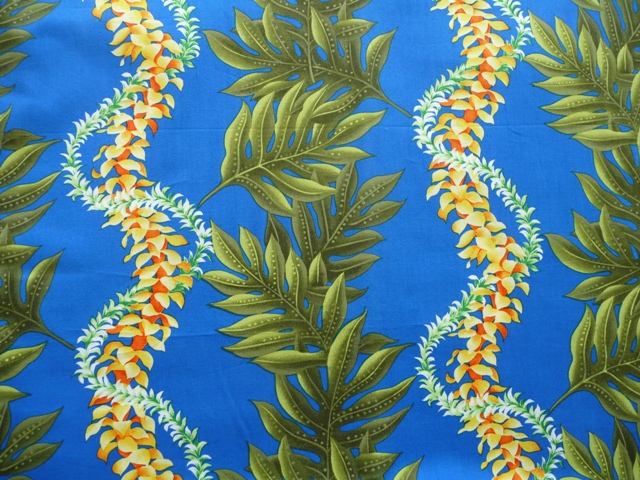 Fabric: a poplin from Hawaiian Fabric