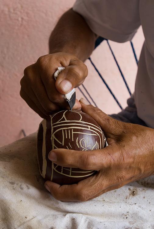 Carving Pots