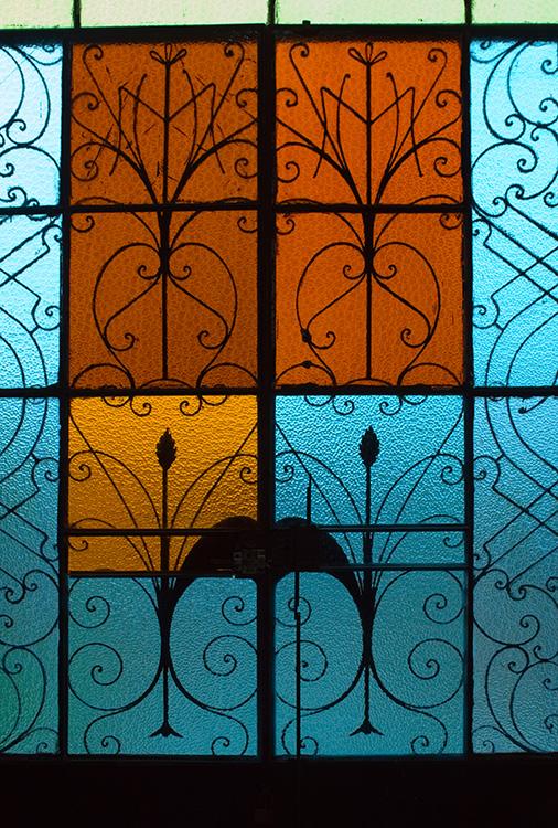 Iglesia de Nacajuca-Church Window