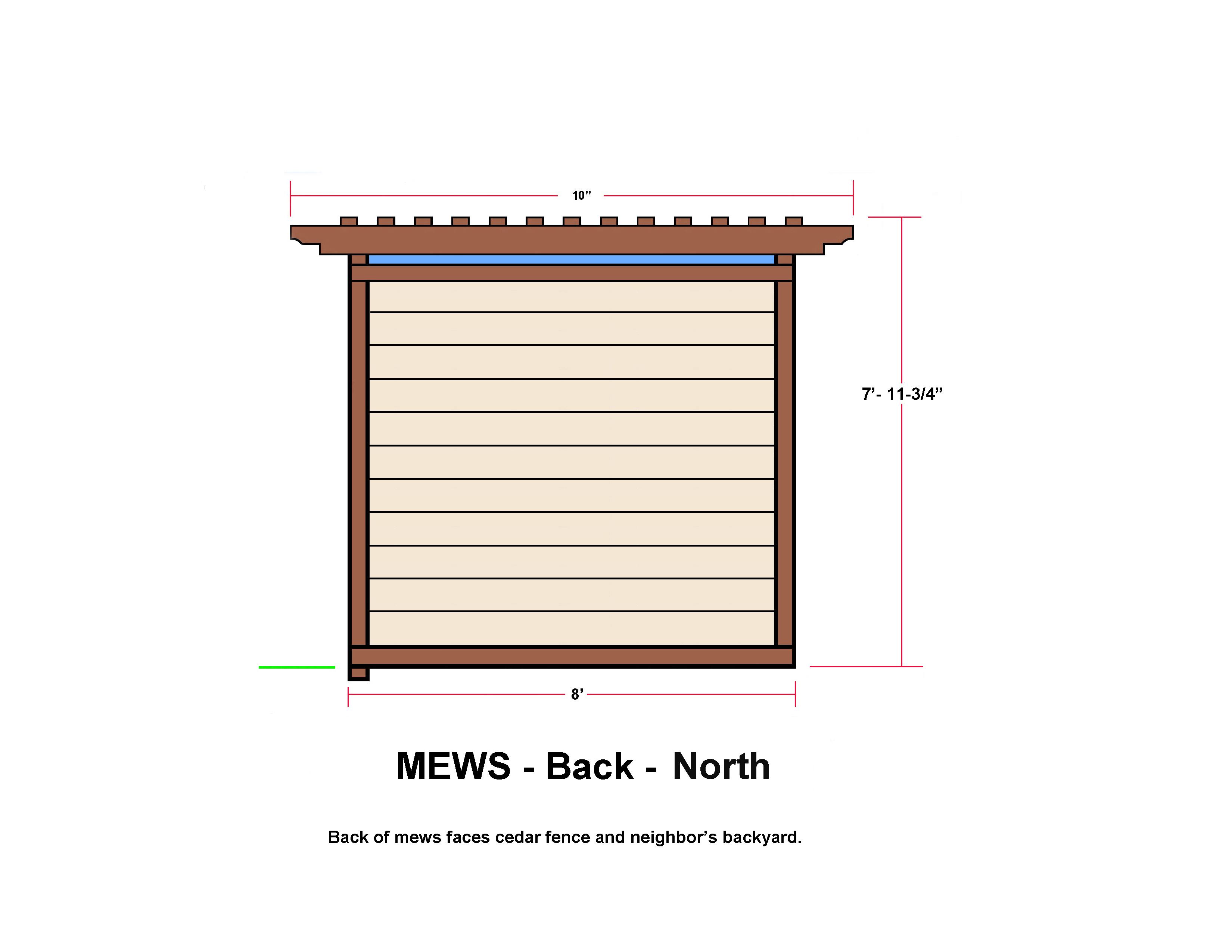 MEWS - Back - North