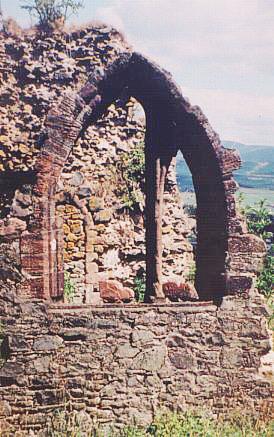 Templar Chapel Ruins in Moffat