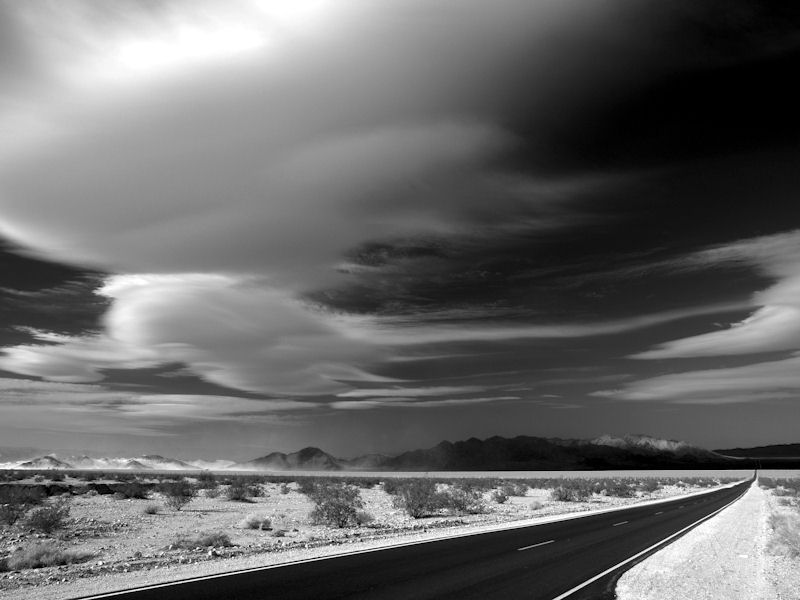 Death Valley Road by James A. Rinner