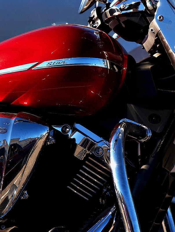 V-Star 1300 Red!!-Shirley
