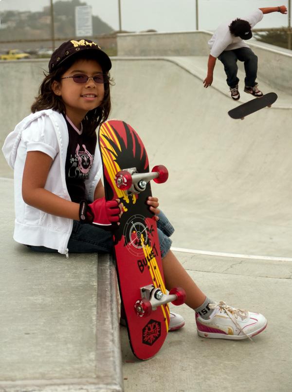 Skateboarding isnt just for boys by Carlos Camacho