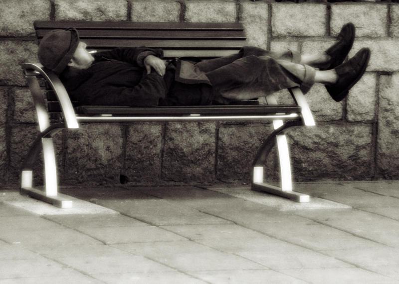 Homeless in Hong Kong