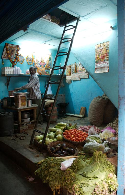 A Man and his Shop, Old Delhi