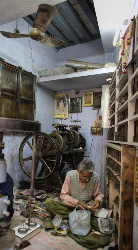 Medallion Shop,  Old Delhi