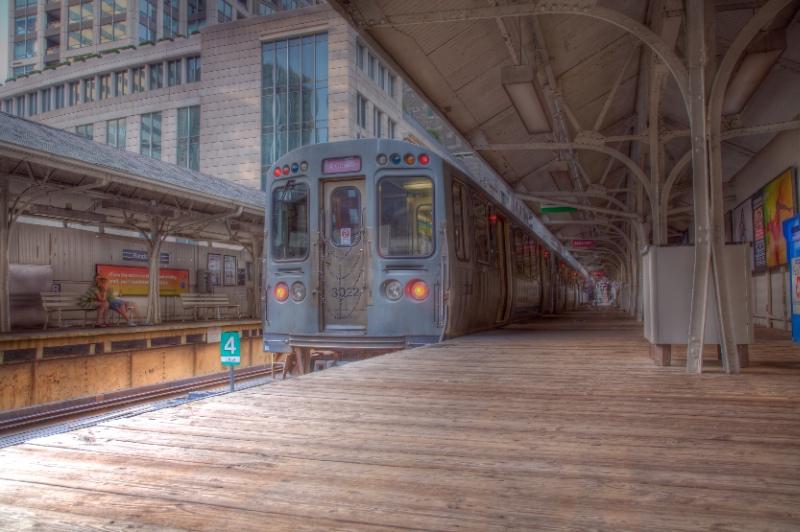 Randolph CTA Station