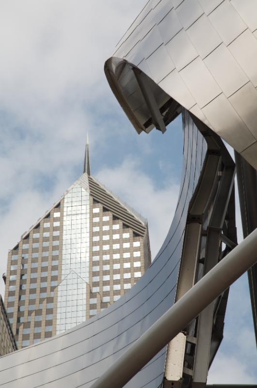 Jay Pritzker Pavilion & Two Prudential Plaza