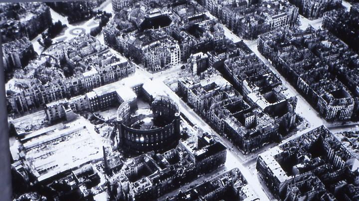 Photo de Berlin au lendemain de la guerre.
