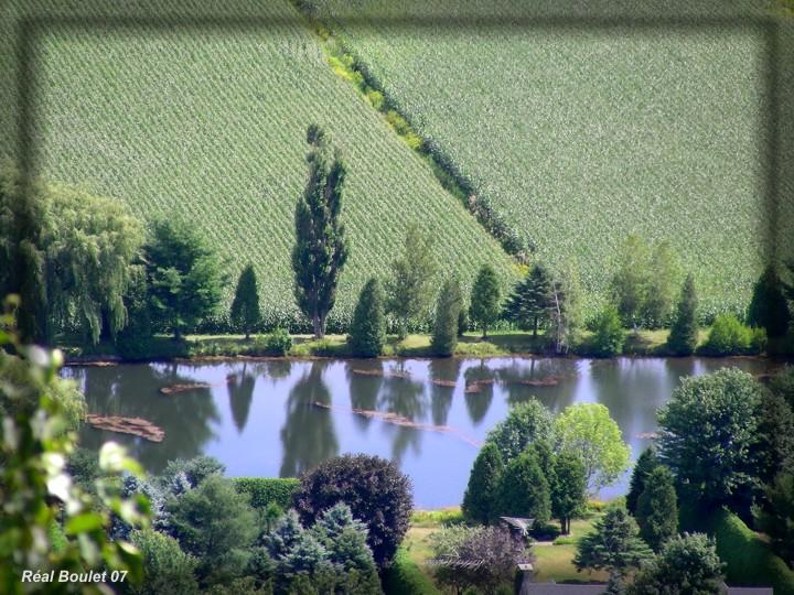 Paysage vu du Mont St-Grégoire