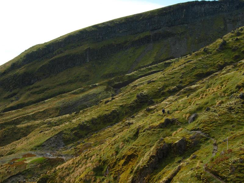 Volcanic slopes, Mt Taranaki