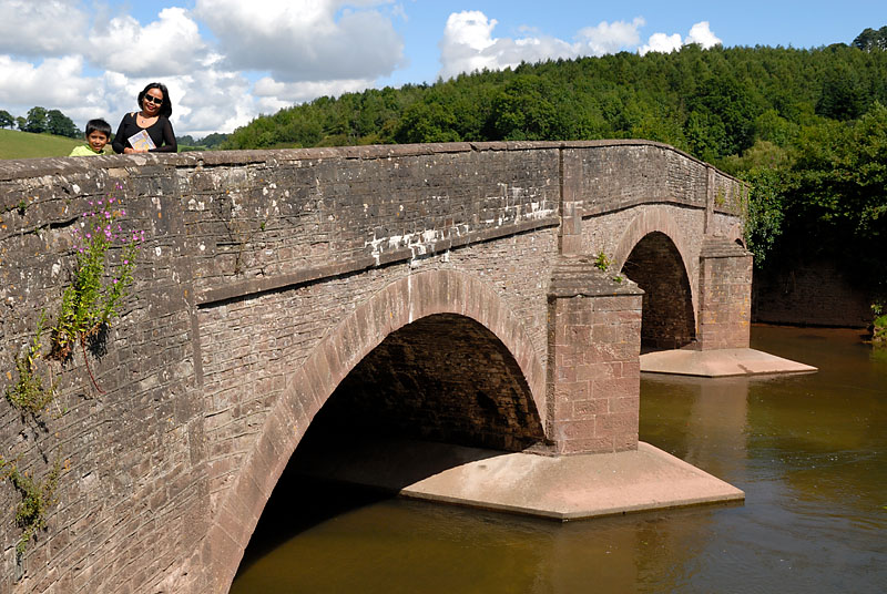 Bridge over the River Monnow at Skenfrith