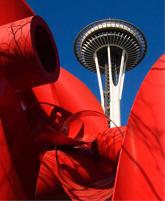 Space Needle & Sculpture