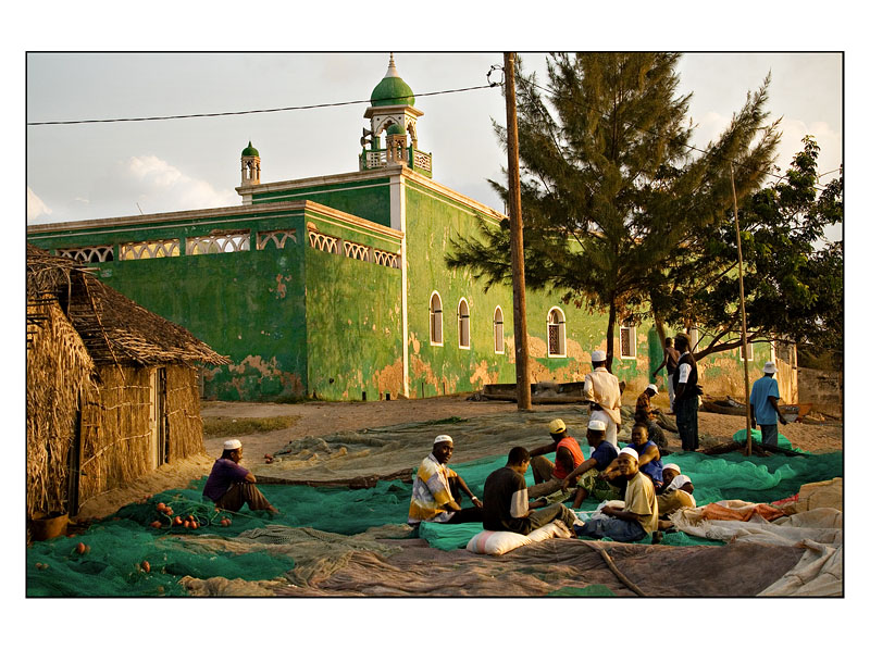 Behind the Green Mosque