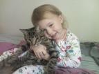 Alyssa and Tigger