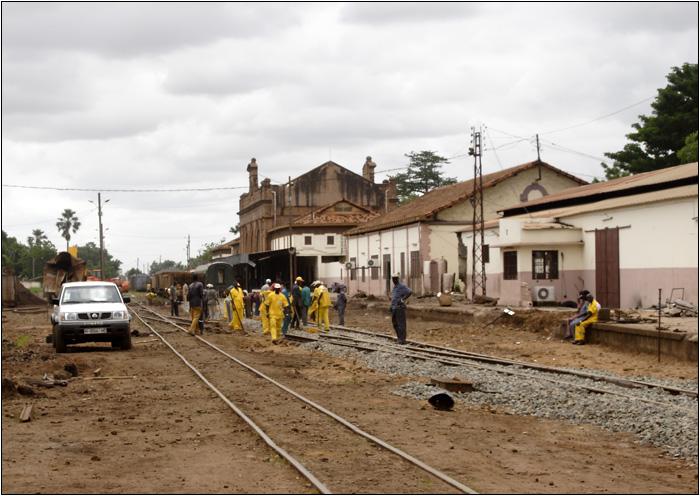 Bamako, gare #25