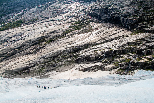 Nigardsbreen (an arm of the Jostedalsbreen glacier)