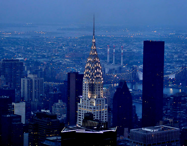 Chrysler Building, middle distance