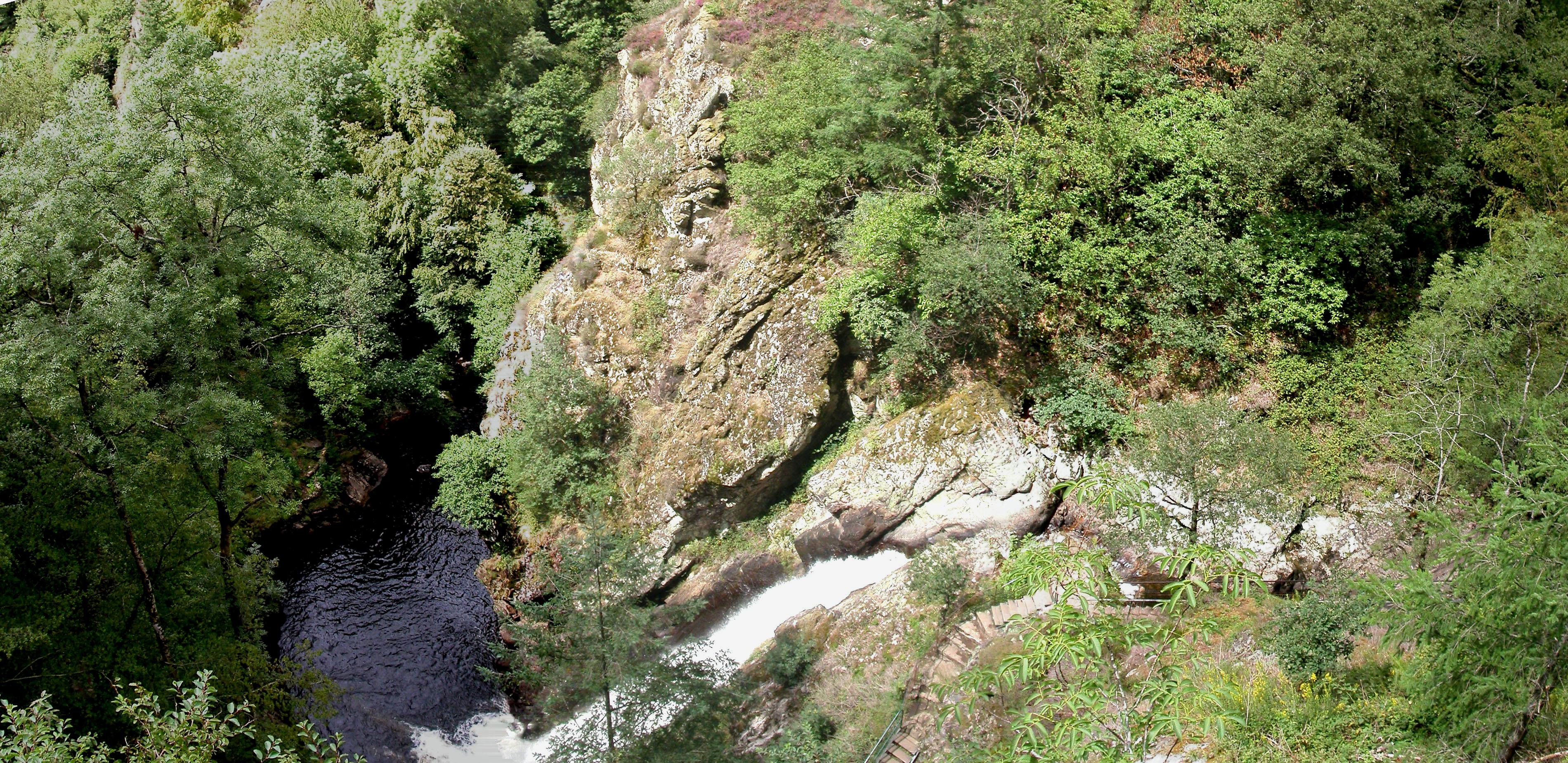 La 3ème cascade de Gimel en Corrèze