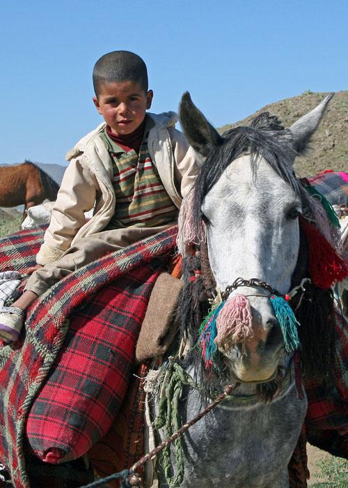 Qashqa'i nomad boy