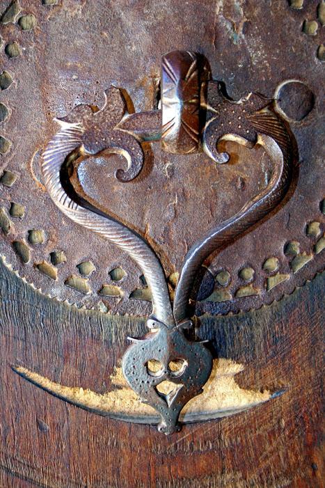 Qajar period mansion door-knocker