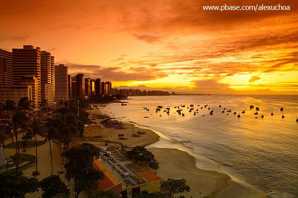 Pôr-do-sol na praia do mucuripe_1516
