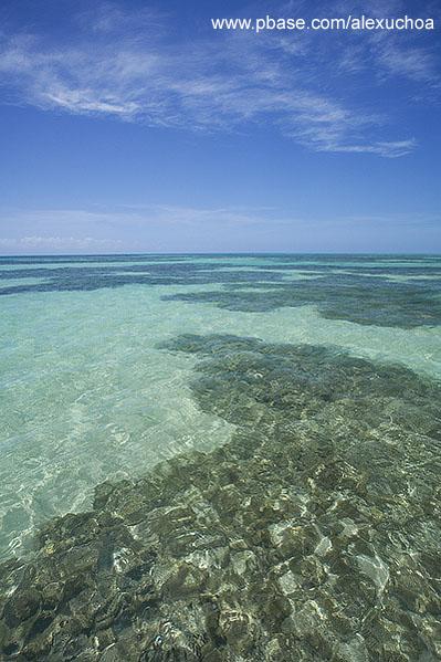 Piscinas naturais, Praia de Paripueira - AL 0076