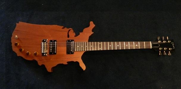 Gibson USA Map guitar