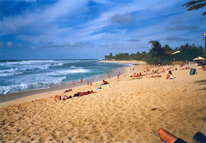 Beach, Oahu
