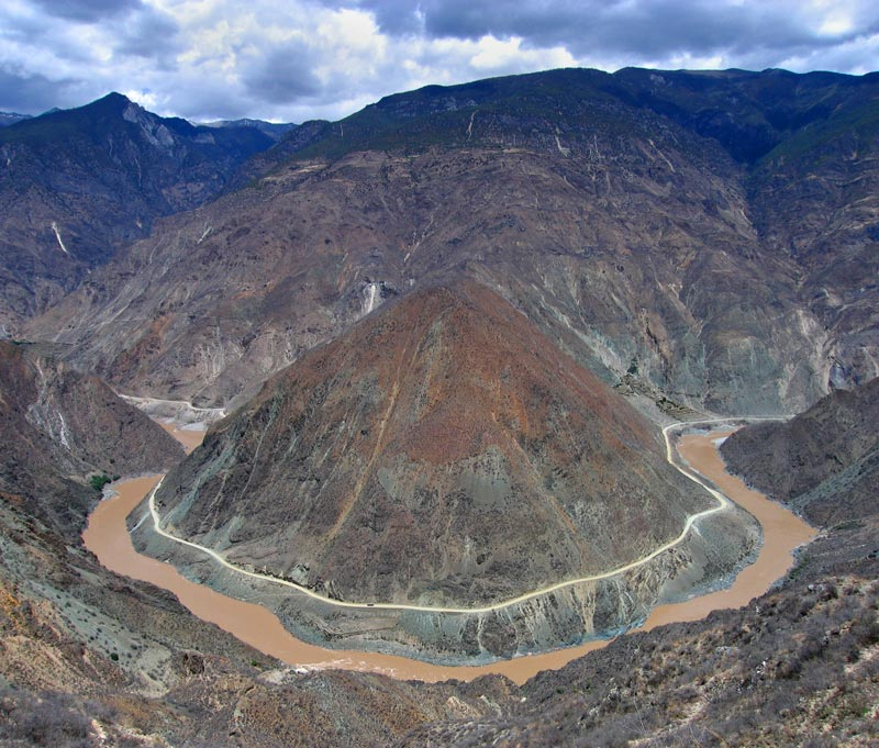 Yangtze at 2,000 mts