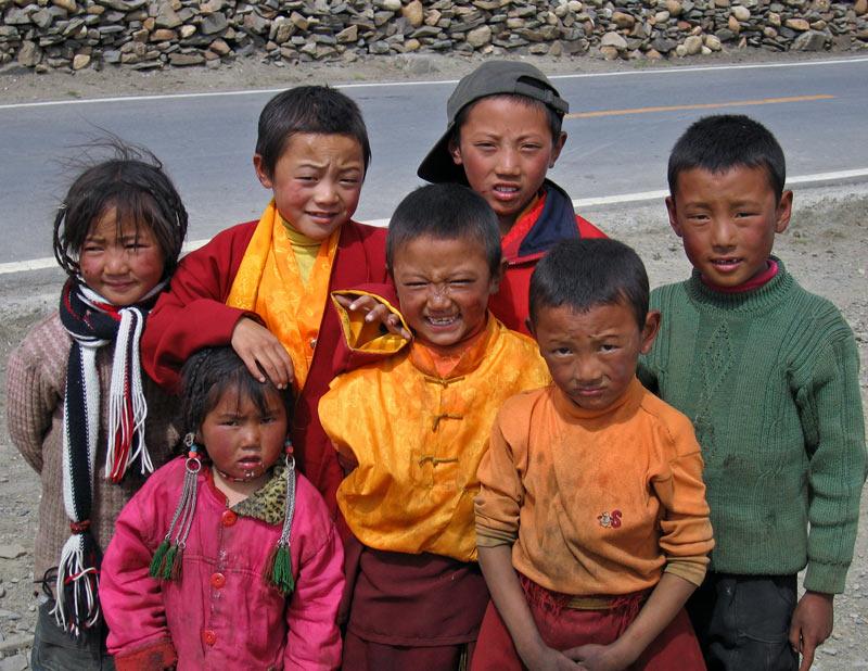 Children, Daocheng