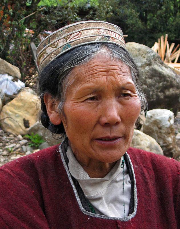 Kongpo woman