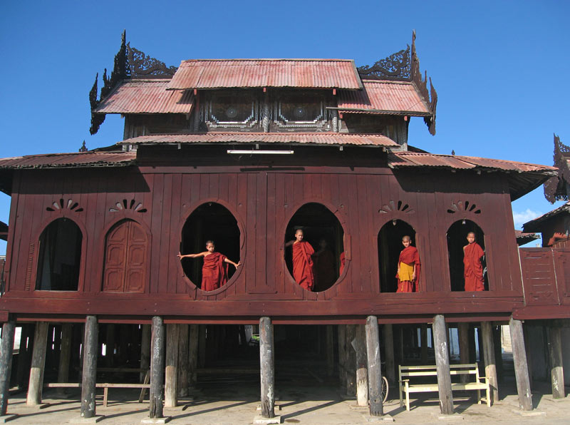 Wooden monastery