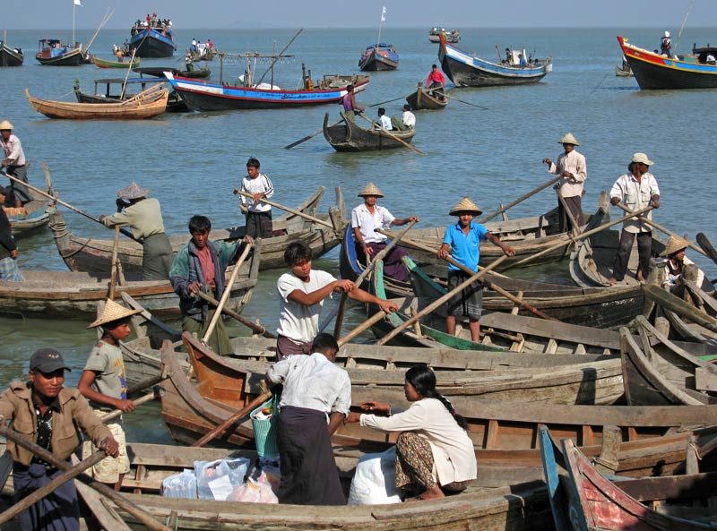 Sittwe harbour