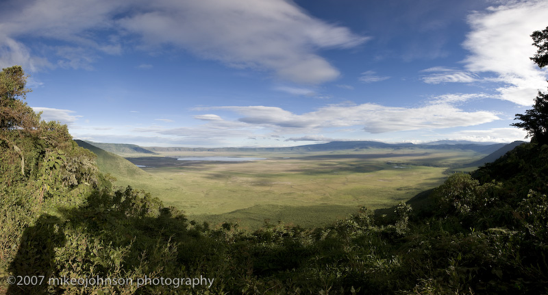 Photographing the NgoroNgoro Crater